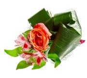 Blumenstrauß des Rotes rosafarben und der Blenden Stockfoto