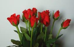 Blumenstrauß des Rotes stieg lizenzfreies stockbild