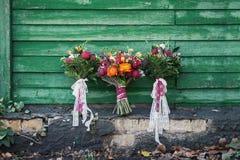 Blumenstrauß drei Lizenzfreies Stockbild