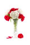 Blumenstrauß in einem Vase Lizenzfreies Stockbild