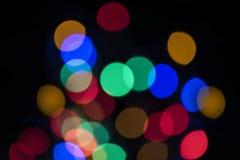 Blumenstrauß für farbige Lichter stockbild