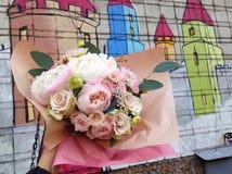 Blumenstrauß in meiner Hand Lizenzfreies Stockbild