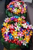 Blumenstrauß mit den batterflies gemacht von den Geleesüßigkeiten Stockfoto
