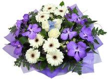 Blumenstrauß mit einer Basisrecheneinheit. Stockbild
