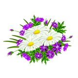 Blumenstrauß von Blumen 2 Stockfotos