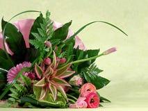 Blumenstrauß von Blumen Stockfotografie