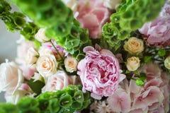 Blumenstrauß von Blumen stockfoto