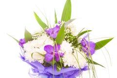 Blumenstrauß von Blumen lizenzfreie stockbilder