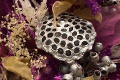 Blumenstrauß von bunten Papierblumen Stockfotografie