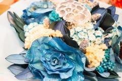 Blumenstrauß von bunten Papierblumen Lizenzfreie Stockbilder