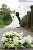 Blumenstrauß von den Lilien Lizenzfreie Stockfotografie