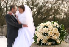 Blumenstrauß von den Rosen Lizenzfreie Stockfotografie