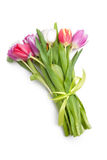 Blumenstrauß von Frühlingstulpenblumen Lizenzfreie Stockfotos