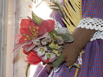 Blumenstrauß von künstlichen Blumen Lizenzfreie Stockfotos
