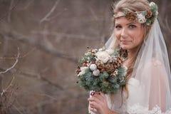 Blumenstrauß von Kegeln Stockfotografie