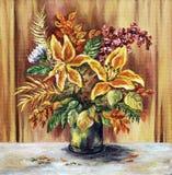 Blumenstrauß von lilie Lizenzfreie Stockbilder