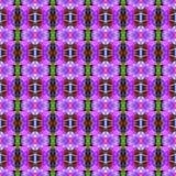 Blumenstrauß von Orchideenblumen sind in voller Blüte nahtlos vektor abbildung