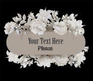 Blumenstrauß von Pastellmohnblumen im Vase, Weinlese Lizenzfreie Stockbilder