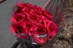 Blumenstrauß von Rosen stockfotografie