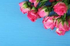 Blumenstrauß von Rosen Stockbild