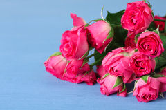 Blumenstrauß von Rosen Stockfoto