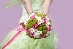 Blumenstrauß von Rouses Stockfoto