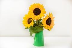 Blumenstrauß von Sonnenblumen Lizenzfreie Stockbilder