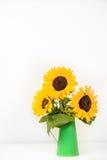 Blumenstrauß von Sonnenblumen Lizenzfreies Stockbild