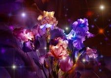 Blumenstrauß von Taffies lizenzfreie abbildung