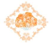Blumenstrauß von Teerosen Stockbild