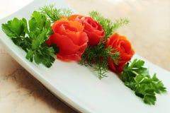 Blumenstrauß von Tomaten Lizenzfreie Stockbilder