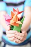 Blumenstrauß von Tulpen Lizenzfreies Stockbild