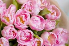 Blumenstrauß von Tulpenblumen Lizenzfreie Stockbilder