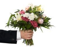 Blumenstraußblumenstrauß stockfotografie