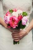 Blumenstraußnahaufnahme Lizenzfreies Stockbild