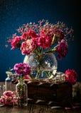Blumenstrauß der rosa Gartennelke lizenzfreies stockfoto