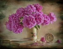 Blumenstrauß der PUmesonen Lizenzfreies Stockfoto