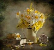 Blumenstrauß von narcissuses Stockfotografie