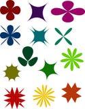 Blumensymbol Stockfotos