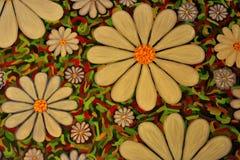 Blumenszene Stockbild