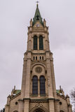 Blumental kościół w Bratislava Zdjęcia Stock