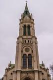 Blumental kyrka i Bratislava Arkivfoton