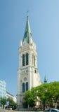 Blumentalkerk. Bratislava, Slowakije Stock Foto's
