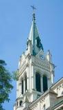Blumentalkerk. Bratislava, Slowakije Stock Afbeeldingen