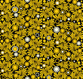 Blumentapete Stockfotografie