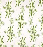 Blumentapete auf weißem Gewebe lizenzfreie abbildung