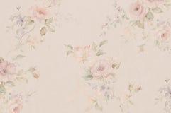 Blumentapeten stockbilder