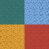 Blumentapeten-Muster Stockfotos