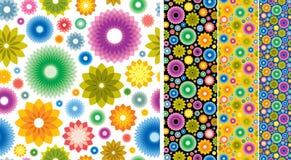 Blumentapetenhintergrund Lizenzfreie Stockfotografie