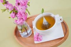 Blumentee Stockfoto